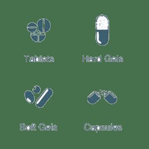 Tampondruckmaschinen für den pharmazeutischen Tablettendruck